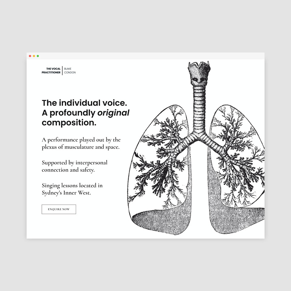 The Vocal Practitioner
